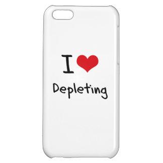 I Love Depleting Case For iPhone 5C