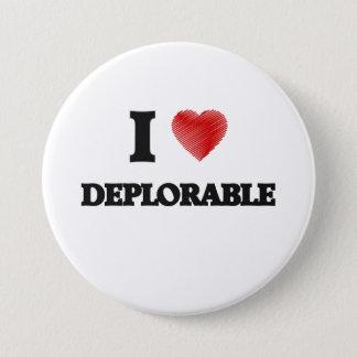 I love Deplorable 7.5 Cm Round Badge