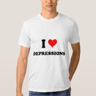 I Love Depressions Shirts