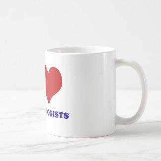 I love dermatologists design basic white mug
