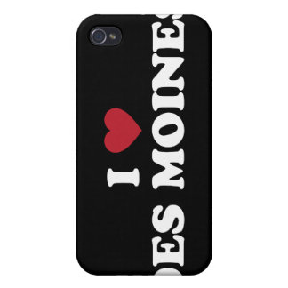 I Love Des Moines Iowa iPhone 4/4S Covers