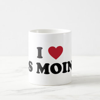 I Love Des Moines Iowa Mugs