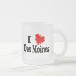 I Love Des Moines Mugs