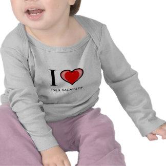 I Love Des Moines T Shirts