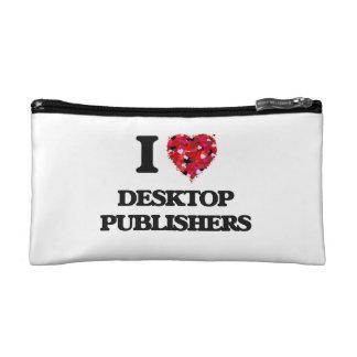 I love Desktop Publishers Cosmetic Bag