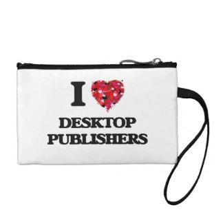 I love Desktop Publishers Change Purse