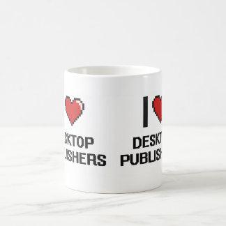 I love Desktop Publishers Basic White Mug