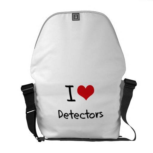 I Love Detectors Courier Bag