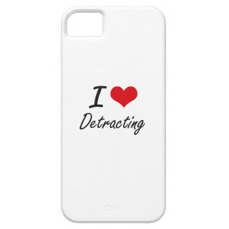I love Detracting Barely There iPhone 5 Case