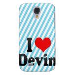 I love Devin Galaxy S4 Case