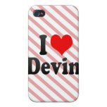 I love Devin iPhone 4/4S Covers