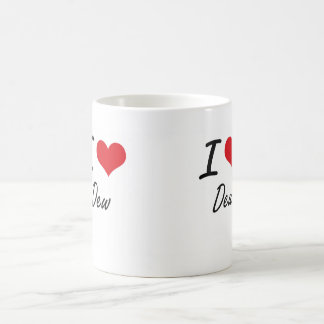 I love Dew Basic White Mug
