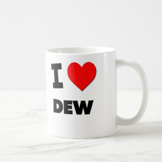 I Love Dew Coffee Mug