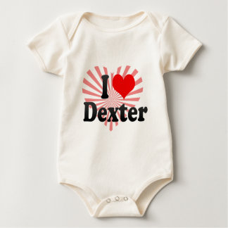 I love Dexter Baby Bodysuit