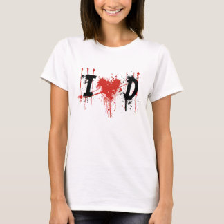 i Love Dexter Black text T-Shirt