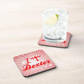 I Love Dexter, Georgia Beverage Coasters