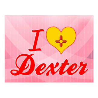 I Love Dexter, New Mexico Postcard