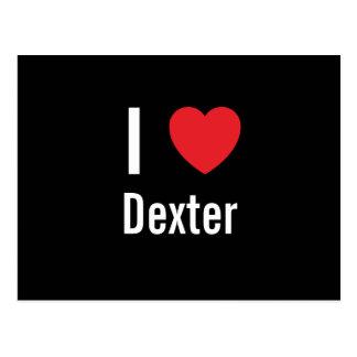 I love Dexter Postcard