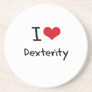 I Love Dexterity Coasters