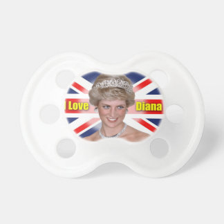 'I Love Diana' HRH Princess Diana Pacifier