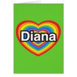 I love Diana. I love you Diana. Heart