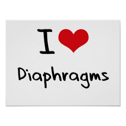 I Love Diaphragms Posters
