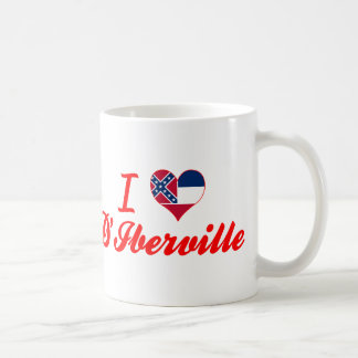 I Love D'Iberville, Mississippi Coffee Mug
