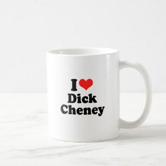 I Love Dick Cheney Mugs