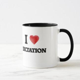 I love Dictation Mug