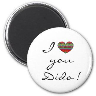 I Love Dido Ukrainian Folk Art Fridge Magnets