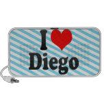 I love Diego Speaker