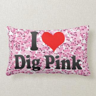 I love Dig Pink Pillows