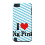 I love Dig Pink iPod Touch 5G Case