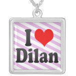 I love Dilan Necklace