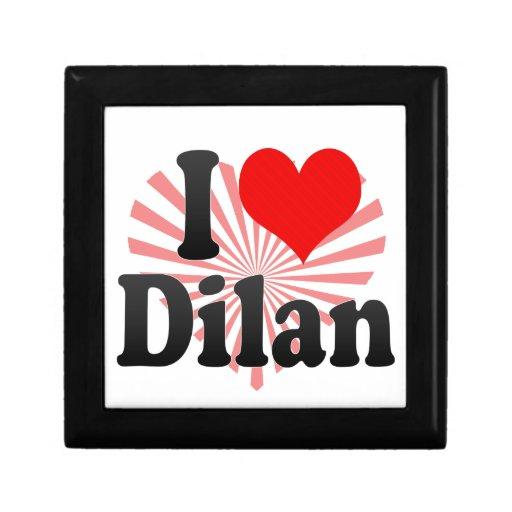 I love Dilan Small Square Gift Box