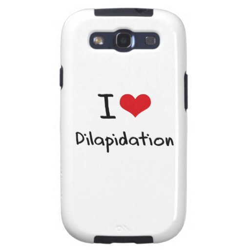 I Love Dilapidation Samsung Galaxy S3 Cases