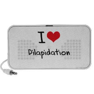 I Love Dilapidation Speakers