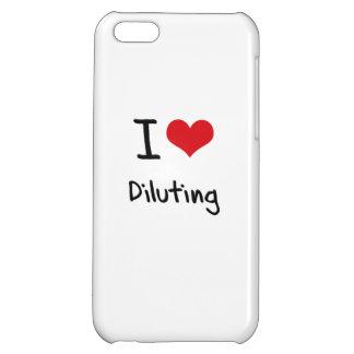 I Love Diluting iPhone 5C Cases
