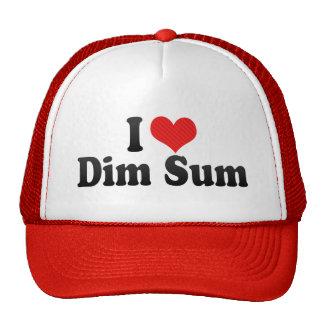 I Love Dim Sum Cap
