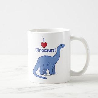 I Love Dinosaurs: Apatosaurus Mugs