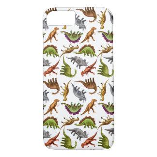 I Love Dinosaurs iPhone 7 Case