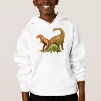 I Love Dinosaurs Kids Hoodie