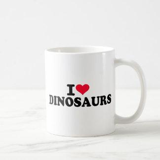 I love Dinosaurs Mugs