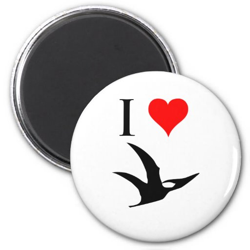 I Love Dinosaurs - Pterodactyl Magnet
