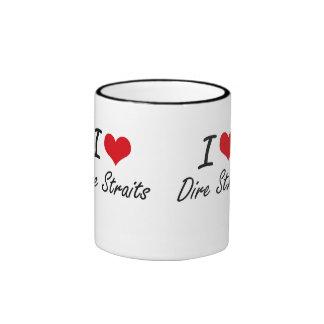 I love Dire Straits Ringer Mug