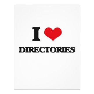 I love Directories Custom Flyer