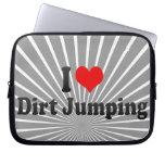 I love Dirt Jumping Laptop Computer Sleeves