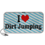 I love Dirt Jumping Notebook Speakers