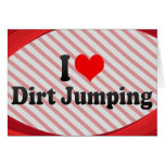 I love Dirt Jumping Stationery Note Card