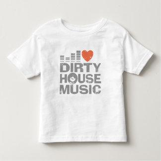 I Love Dirty House Music T Shirt